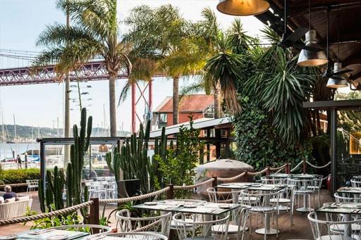 Restaurantes com vista rio